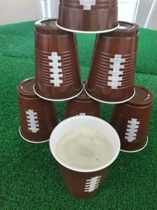 super bowl cups