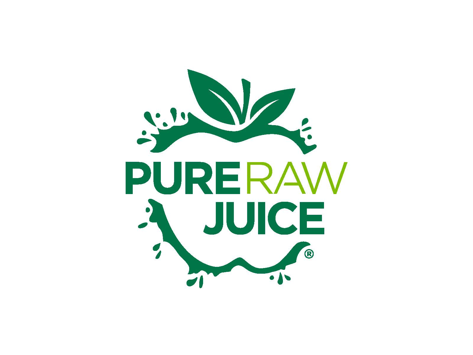 Pure raw juice logo