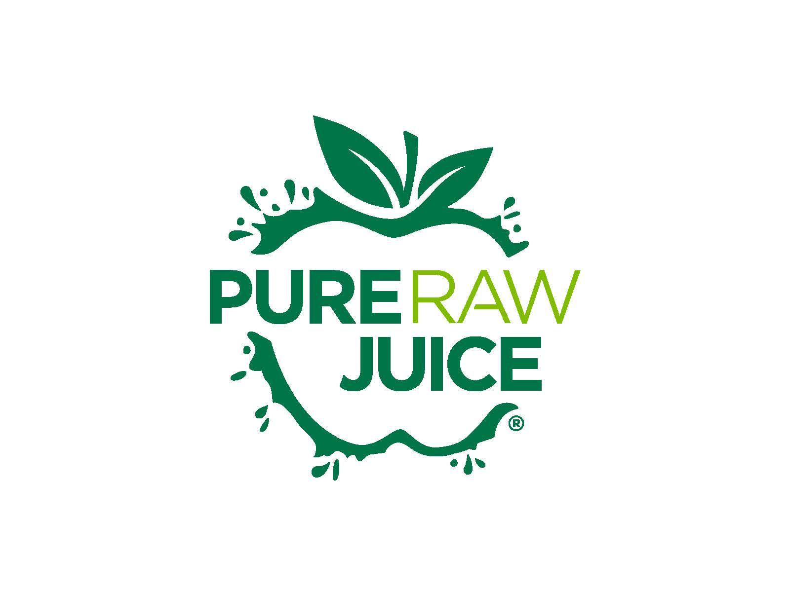 Pure raw juice logo
