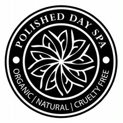 Polished day spa logo